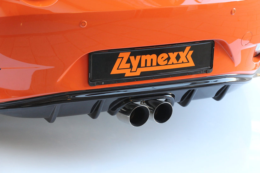 "Mazda MX-5 ND / RF sports exhaust Fox ""Gen1"" with 90 mm tailpipes + Diffuser"
