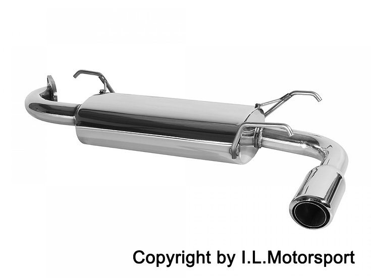 NB MX-5 Stainless Steel Exhaust Single Tip