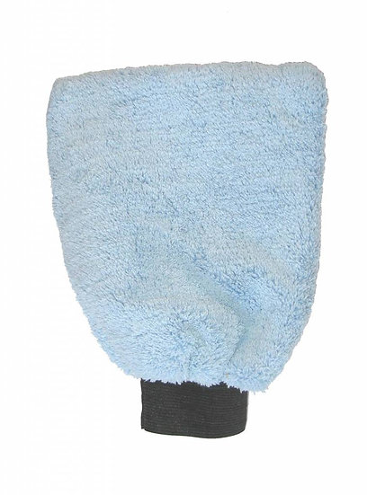 Microfibre glove blue