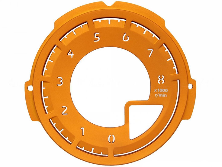 MX-5 Tachometer Dial Face Orange