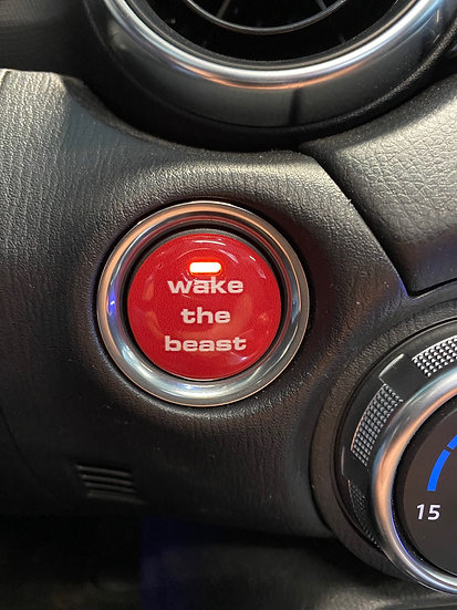 "Start button ""wake the beast"" WTB"