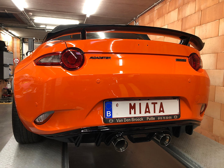 ND MX-5 Sport Exhaust Center Exit & Diffuser