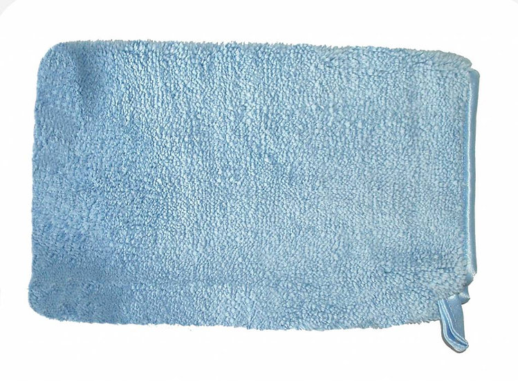 Microfibre Dusting/cleaning glove blue 5 pack
