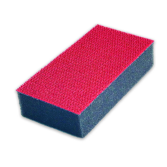 Power sponge Red/Black pack of 4