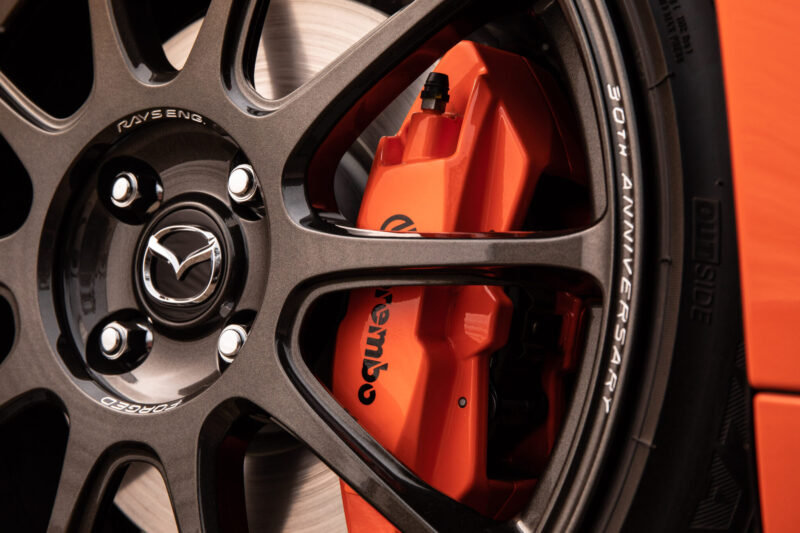 MX-5 ND 30th Anniversary Rays wheel Mazda