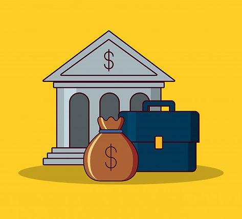banco-de-construcao-e-design-de-dinheiro