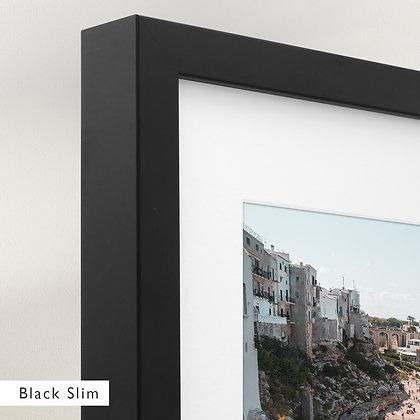 Cliffs of Puglia (Framed)