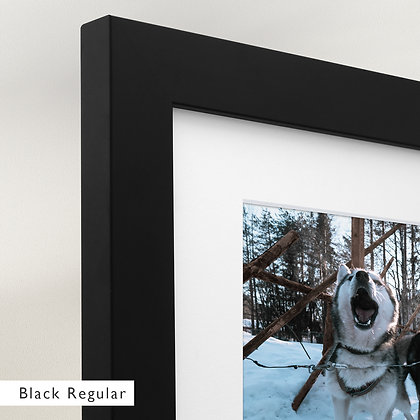 Husky Run (Framed)
