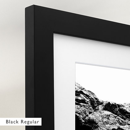 Contrast The Mountains (Framed)