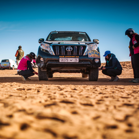 The Guardian | 'No phones, no GPS, no men': The all-female off-road rally like no other