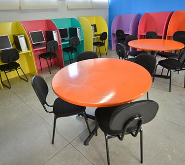 Sala Multiuso para Estudo