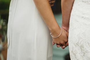 Hands at Runaway Irish Weddings