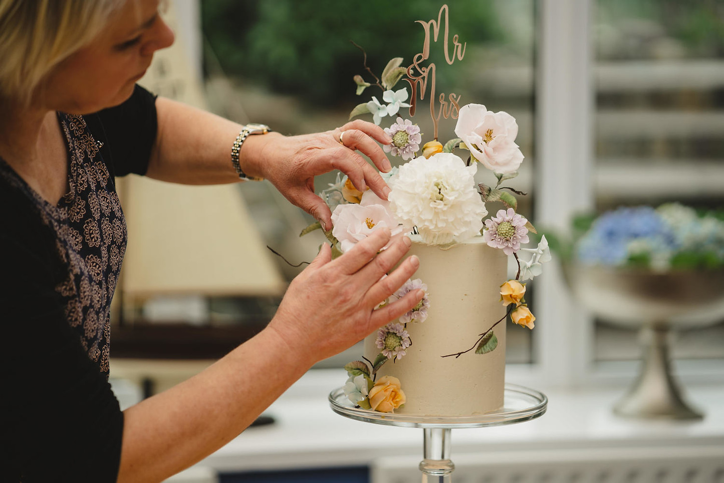 Dawn from Wedding Cakes by Design