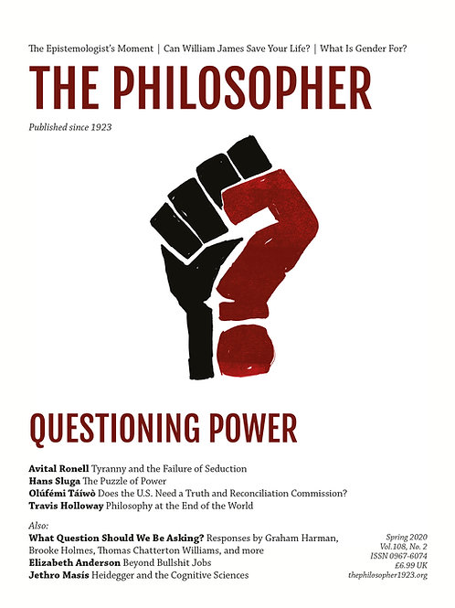 Spring 2020: Questioning Power