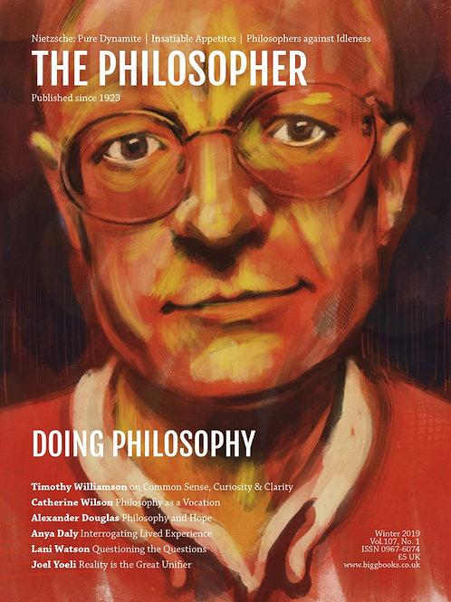 Winter 2019: Doing Philosophy