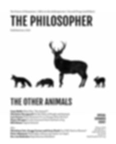 The Philosopher (Winter 2020) cover outs