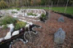 Edibe Labyrinth in Victoria, BC