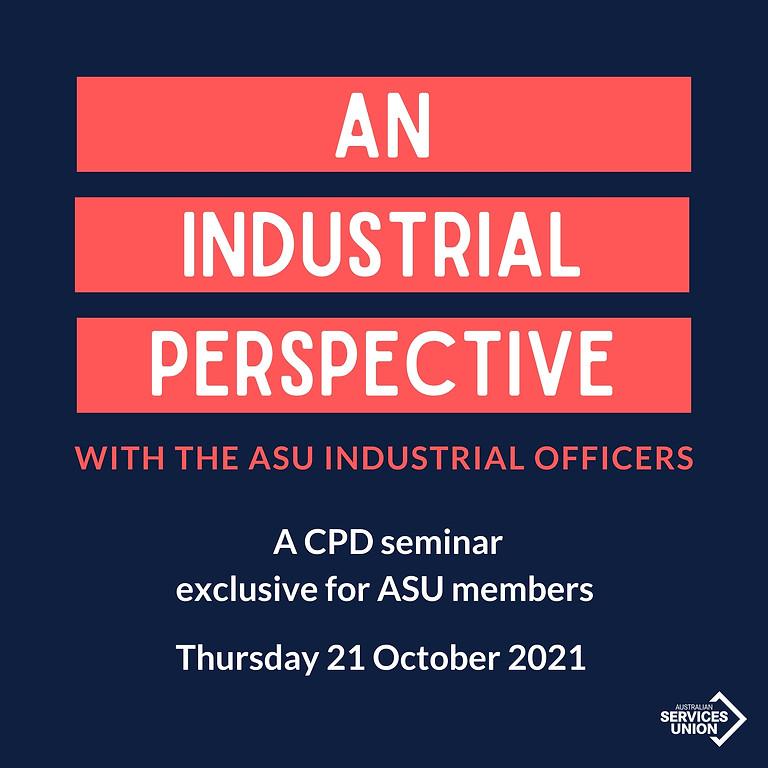 CDP seminar for ASU members working in the legal sector