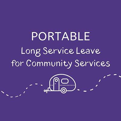 Portable Long Service Leave social media