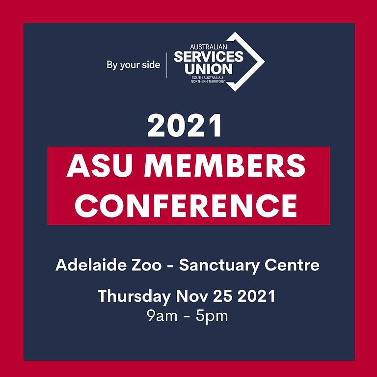 2021 ASU Members Conference
