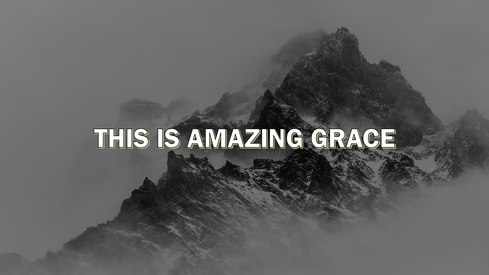 This is Amazing Grace Youtube video thumbnail