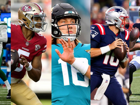 Checking in on NFL Rookie Quarterbacks