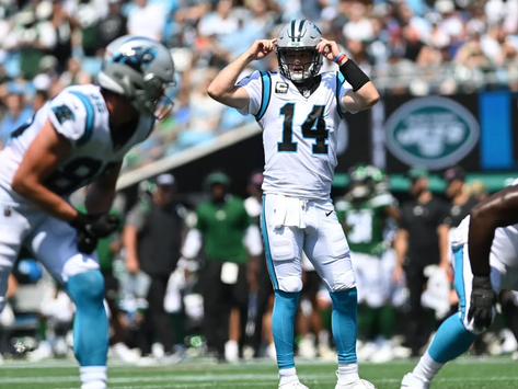 Sam Darnold's Early Resurgence in Carolina and the Jets Guide on What Not to Do Again
