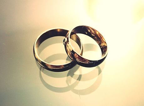 Rings are symbolic of the never ending committment that a successful marriage requires.