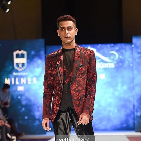 Milner's Men at London Fashion Week