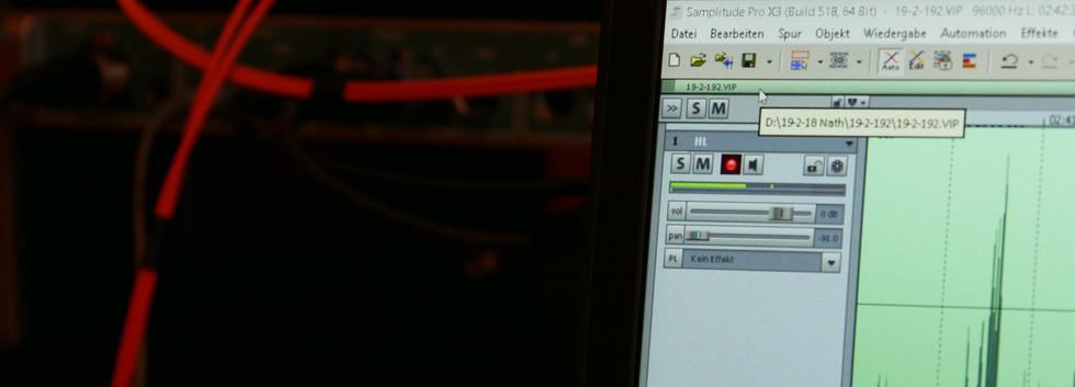 "Recording ""Palette"""