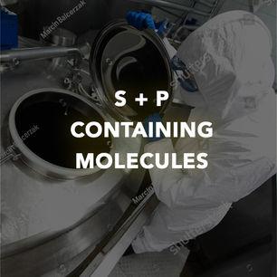 S + P CONTAINING MOLECULES