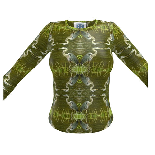 Long Sleeve T-Shirts - Heather Bird's Birds