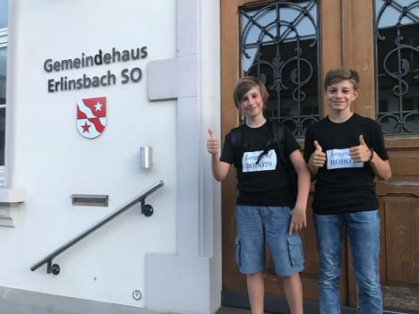 Einladung der Jugendkommission Erlinsbach