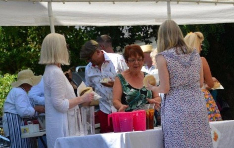 Wisma garden party
