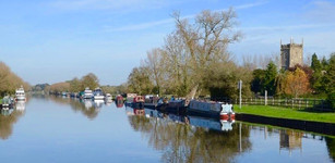 Canal at Frampton on Severn