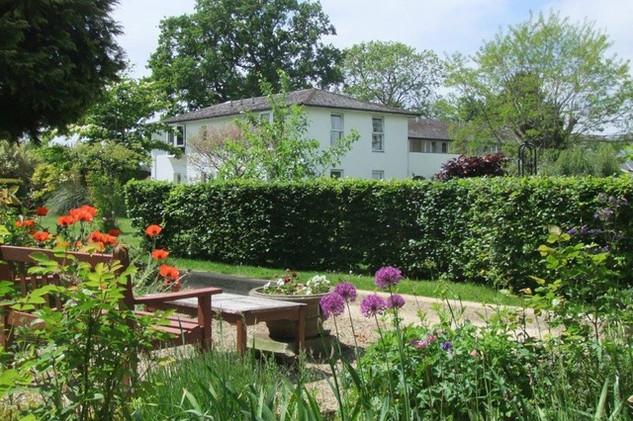 Wisma Mulia garden
