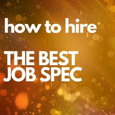 The Best Job Spec