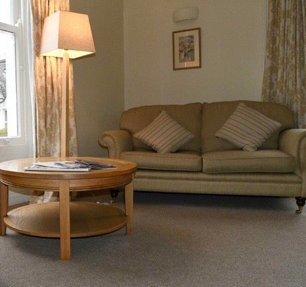 Respite sitting room