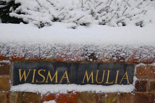 Wisma in the snow
