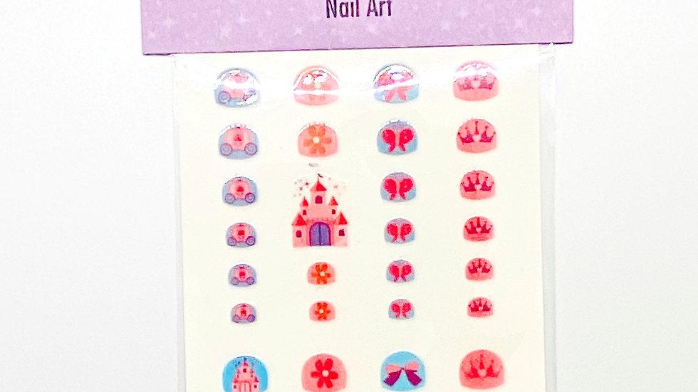 Princess Nail Art Stickers