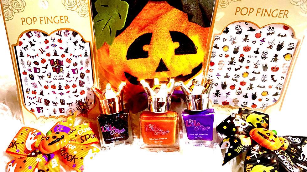 Halloween Nail Polish Set