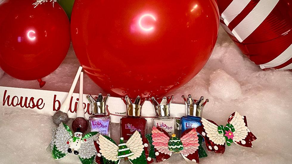 Christmas Nail Polish Set