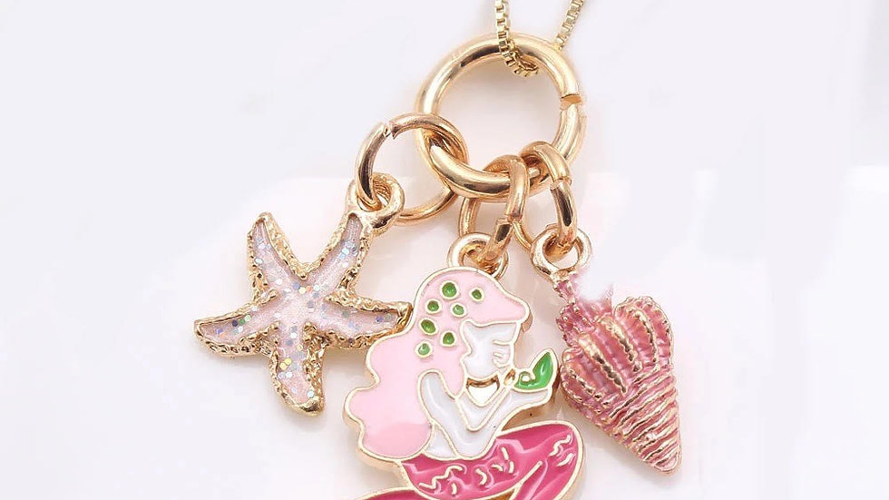 Mermaid Seashell Necklace