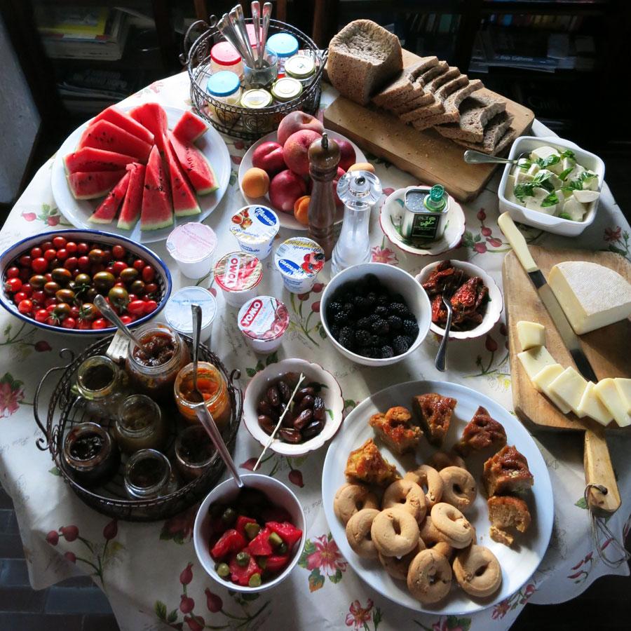 breakfast included