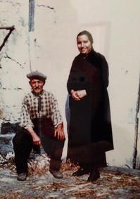 Bisnonno Ciccio e nonna Mariagrazia