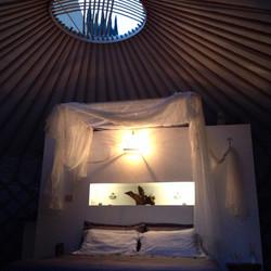 romantic yurt?