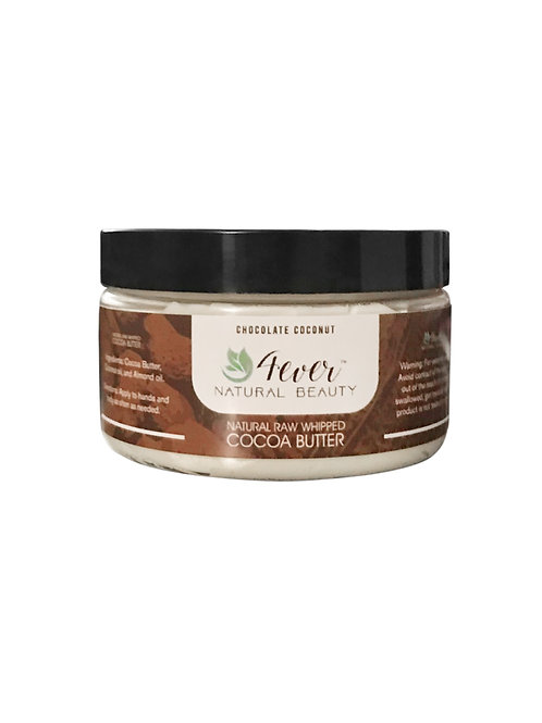 Natural Raw Whipped Cocoa Butter