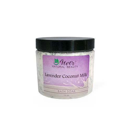 Lavender Coconut Milk Bath Soak