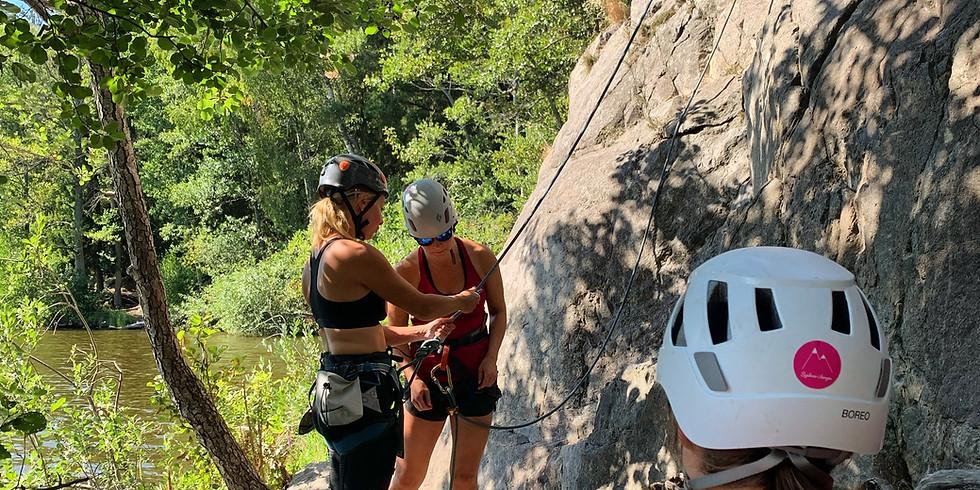 Prova på-klättring ute / vardagkväll