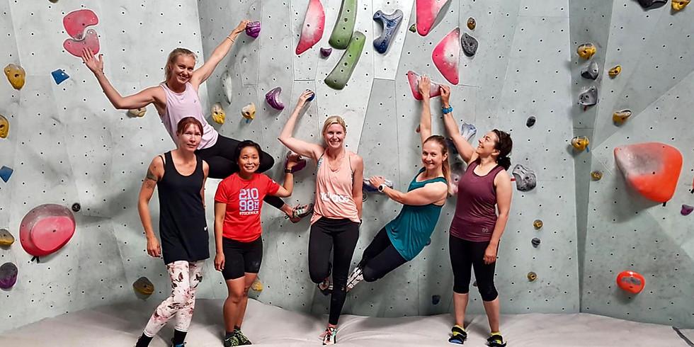 Community climb & training
